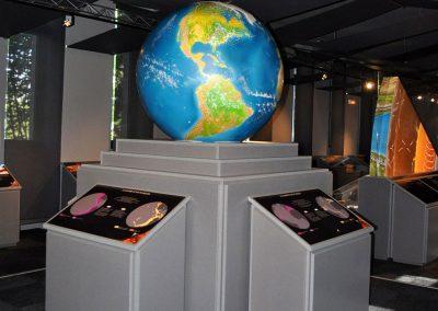 Muséum des volcans - salle 1