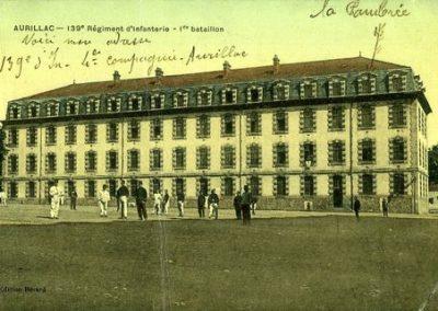 Carte postale de la caserne Delzons