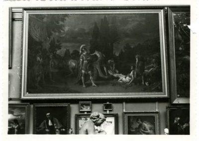 Vue intérieure de la chapelle du collège des Jésuites (1939)