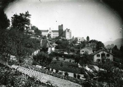 Vue du château Saint-Etienne
