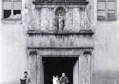 Anciens Haras / Entrée de l'ancienne chapelle