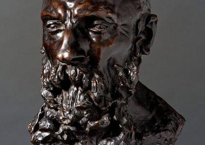 Buste d'Auguste Rodin par Camille Claudel © Pierre Soissons