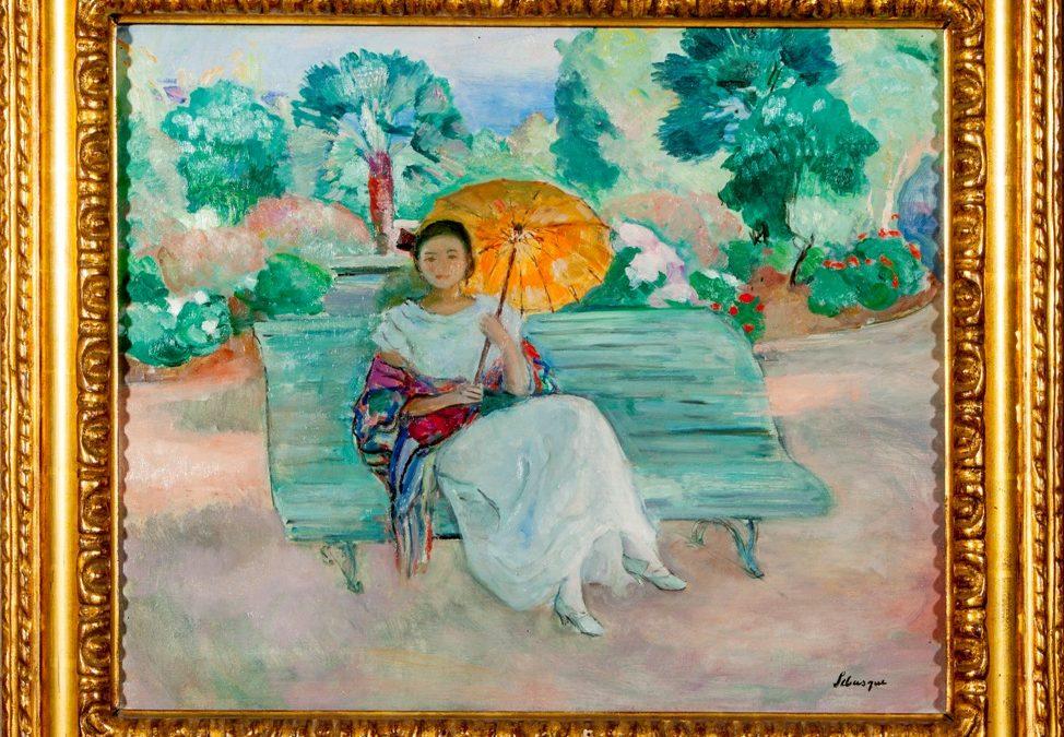 L'ombrelle Jaune