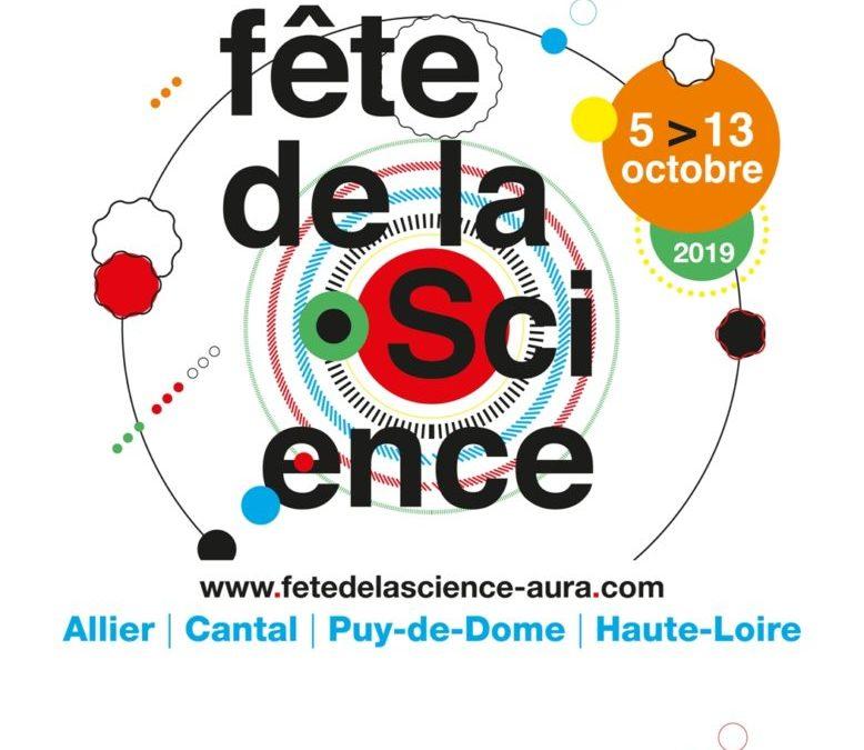 Fête de la Science 2019 – du 7 au 11 octobre